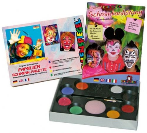 8 Colour Palette Boys & Girls Makeup Make-Up Face Paint Make-Up Face Paint Box